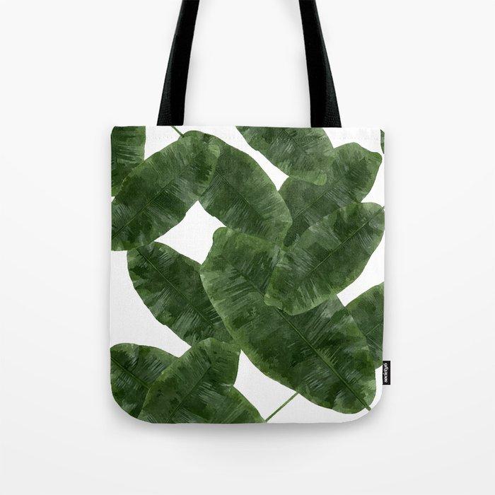 Banana Leaves V2 #society6 #decor #buyart Tote Bag