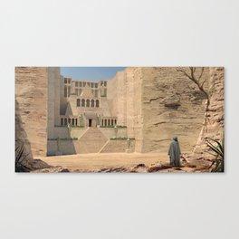 Egypt temple Canvas Print