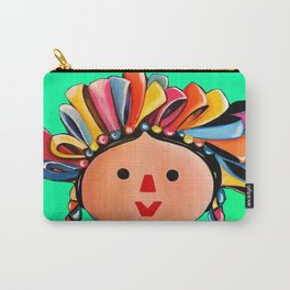 Mexican Maria Doll 3 Carry-All Pouch