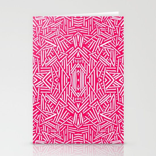 Radiate (Coral) Stationery Cards