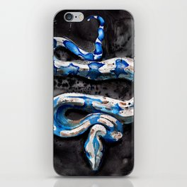 Blue Boa iPhone Skin