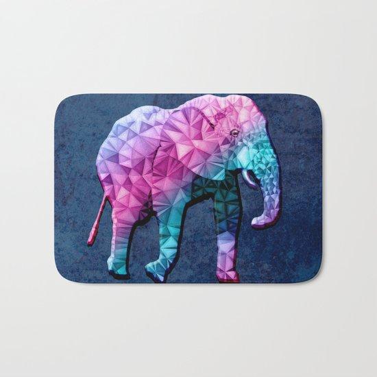 abstract elephant Bath Mat