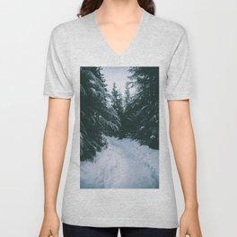 Winter Trails Unisex V-Neck