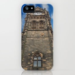 victorian gothic - rochdale town hall iPhone Case
