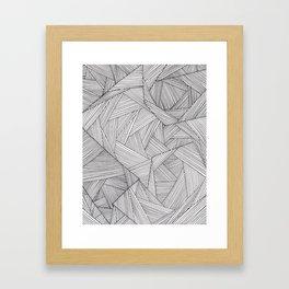 fibers (1) Framed Art Print