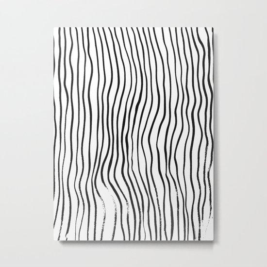 minimal movement - invert Metal Print