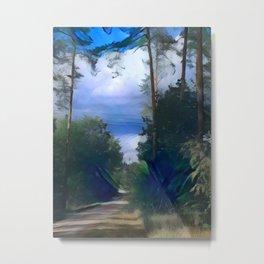 A forest in Nuremberg Metal Print
