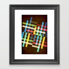 Up and Sideways Framed Art Print
