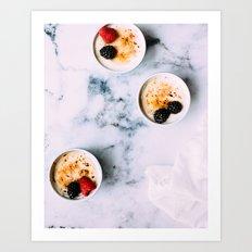 dessert time Art Print