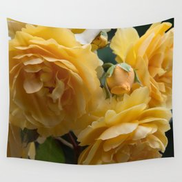 Graham Thomas old fashioned rose Wall Tapestry