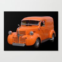 car Canvas Prints featuring Car by Kathleen Stephens