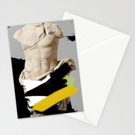 heroic semi-nudity Stationery Cards