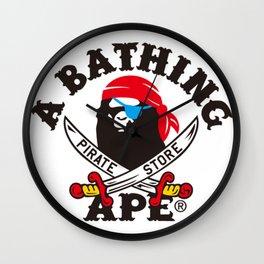 a bathing ape Xone piece Wall Clock