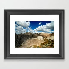 bandlands baby. Framed Art Print