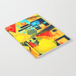 Sunny day at the beach Notebook