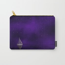 Purple Ship Carry-All Pouch