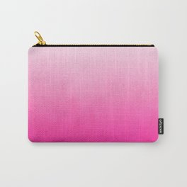 Orea - ombre pink modern colorful dorm college trendy gifts Carry-All Pouch