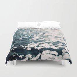 Sea Spark Duvet Cover