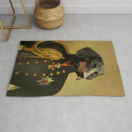royal dog portraits dachshund ,Royal Pet Portrait ,royal dogs paintings , Renaissance Pet King Portrait, Classic Pet Portrait ,sausage Rug