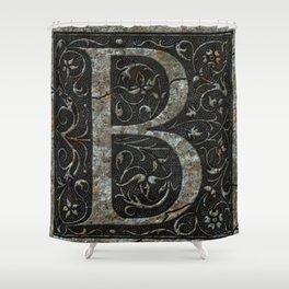 B Shower Curtain