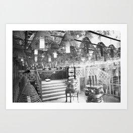 Temple #1 Art Print