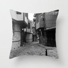 Nessebar bulgary Throw Pillow