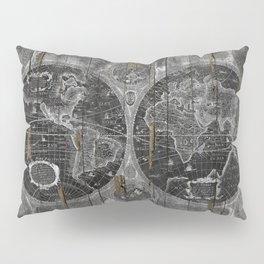Treasure Map Pillow Sham