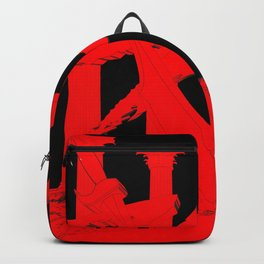 300 Red and Black Backpack