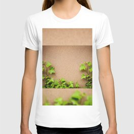 young leaves of hedera helix ivy T-shirt