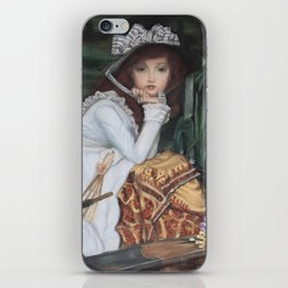 Young Lady in a Boat iPhone Skin