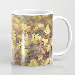 Tiny Yellow Leaves in Autumn Coffee Mug