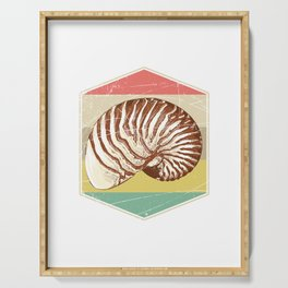 Snail Shell Serving Tray