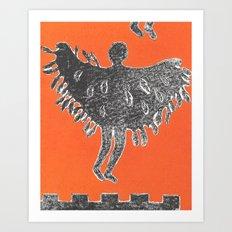 Icarus and Daedalus VIII Art Print