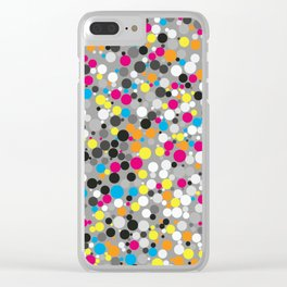 Multi Color Fusion Clear iPhone Case