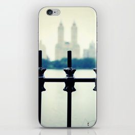 NYC Central Park Two Towers, New York City, Manhattan iPhone Skin