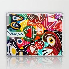 Life is beautiful street art graffiti Laptop & iPad Skin