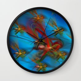 Mosquitoswarm Wall Clock