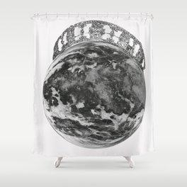Queen Luna  Shower Curtain