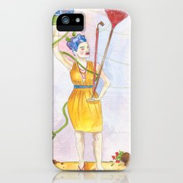 Mrs. Soil iPhone Case