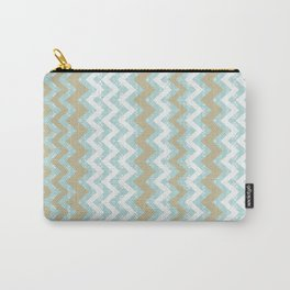 Chevrons and Dots Carry-All Pouch