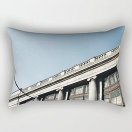 Architecture in Nottingham city centre Rectangular Pillow