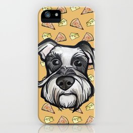 Peter loves pizza and cheese iPhone Case