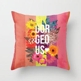 Gorgeous Heart <3 Throw Pillow