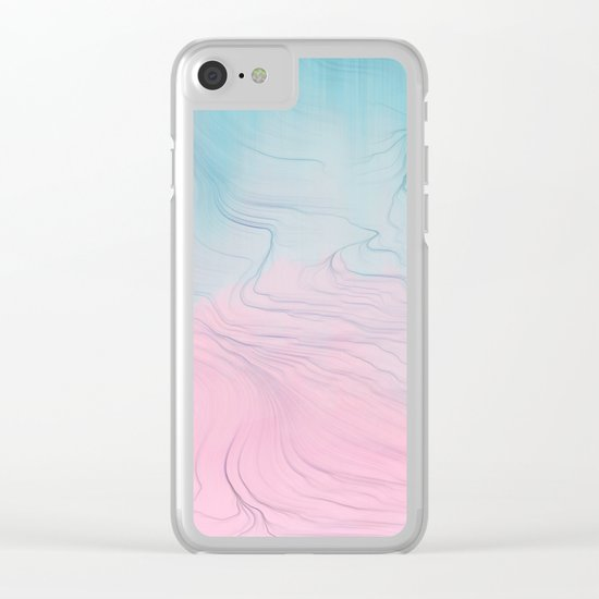 Half of Me Clear iPhone Case