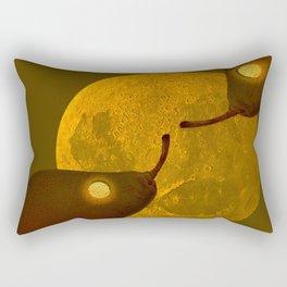 les mots d'amour sous la lune   (The words of love under the moon) Rectangular Pillow