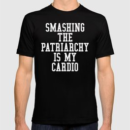 Smashing The Patriarchy is My Cardio (Ultra Violet) T-shirt