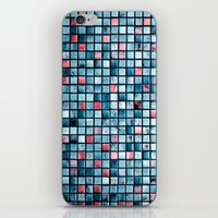 square iPhone & iPod Skins featuring square by Claudia Drossert