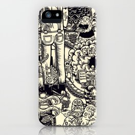 Monster Mart iPhone Case