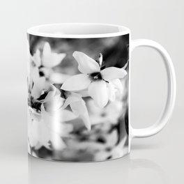 Forsythia in BW Coffee Mug
