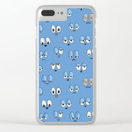 All Eyes On You Clear iPhone Case